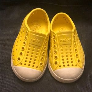 Yellow Native Toddler Size 4